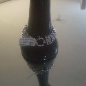 HSN Technibond Silver Byzantine Bracelet